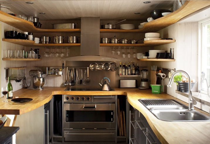 Kis konyhába praktikus konyhabútor